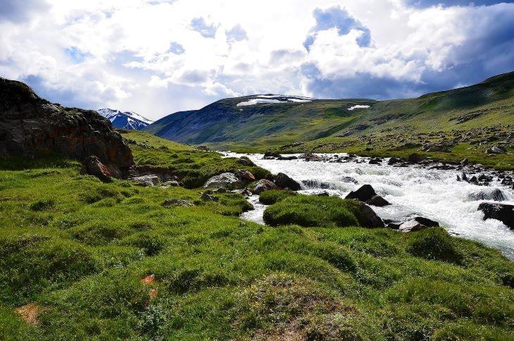 altai river
